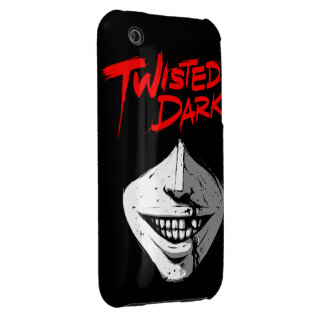 Caja oscura torcida del iPhone 3 Funda Bareyly There Para iPhone 3 De Case-Mate