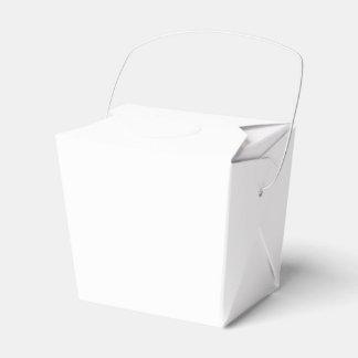 Caja para llevar de encargo del favor