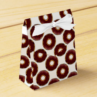Caja Para Regalos 1 diseño del buñuelo del chocolate del dibujo