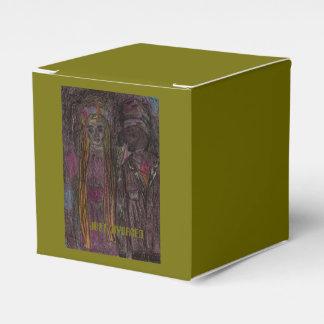"Caja Para Regalos 2x2 clásicos ""apenas divorciados """