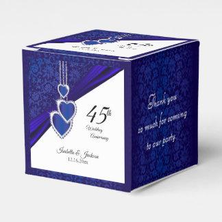 Caja Para Regalos 45.o/65.o diseño del aniversario de boda del