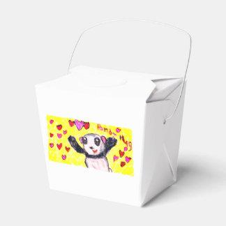 Caja Para Regalos abrazo de la panda
