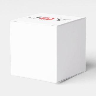 Caja Para Regalos Alegría - smiley - tiras - negro y rojo