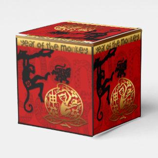 Caja Para Regalos Año del favor chino B del Año Nuevo 2016 del mono