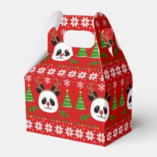 Caja Para Regalos Astas grandes del navidad del dibujo animado de la