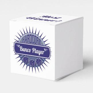 Caja Para Regalos Azul de los dados del jugador de Bunco del ganador