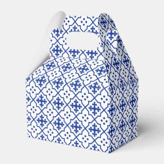 Caja Para Regalos Azul marroquí