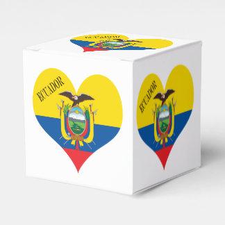 Caja Para Regalos Bandera de Ecuador