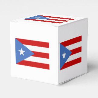 Caja Para Regalos Bandera patriótica puertorriqueña