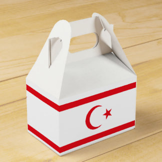 Caja Para Regalos Bandera septentrional de Chipre