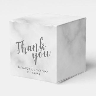 Caja Para Regalos Boda de mármol elegante con clase
