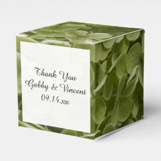Caja Para Regalos Boda floral del Hydrangea verde de Annabelle