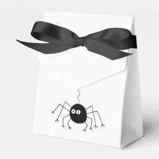 Caja Para Regalos Bolso negro del botín de la araña