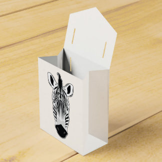 Caja Para Regalos Cara de la cebra