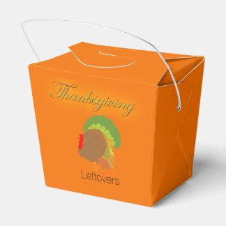 Caja Para Regalos Cartón para llevar de las sobras de la acción de