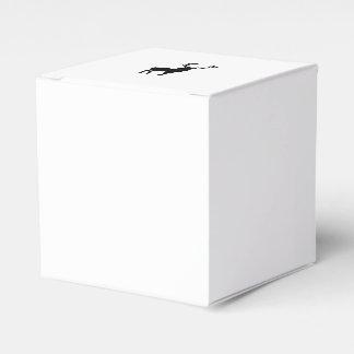 Caja Para Regalos Ciervos blancos y negros