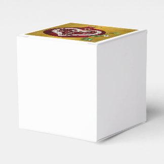 Caja Para Regalos Corazón Jánuca Rosh Hashanah de la granada de