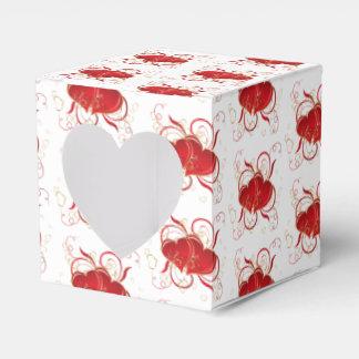 Caja Para Regalos Corazones del regalo/de la Caja-Tarjeta del día de
