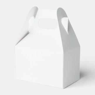Caja Para Regalos Diseñador de la parte alta blanco burbujeante del