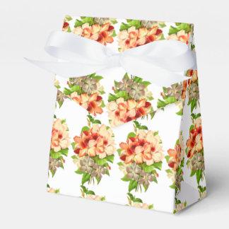 Caja Para Regalos El boda romántico floral favorece personalizable