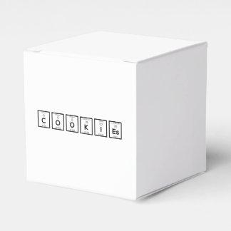Caja Para Regalos Elemento químico Z57c7 de las galletas