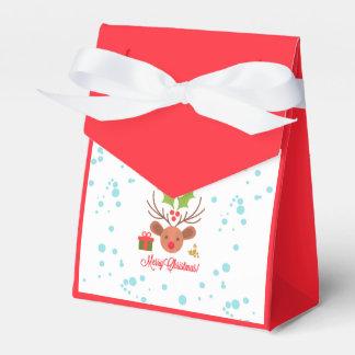 Caja Para Regalos Felices Navidad