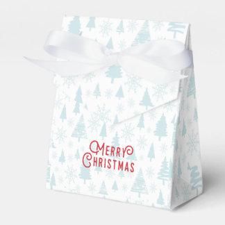 Caja Para Regalos Felices Navidad del árbol de navidad elegante