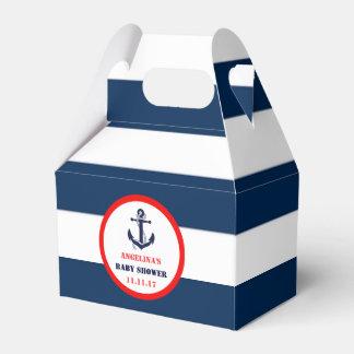 Caja Para Regalos Fiesta de bienvenida al bebé náutica de azules