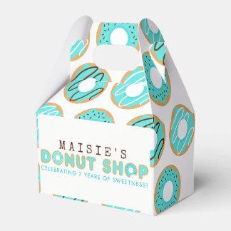 Caja Para Regalos Fiesta de cumpleaños azul de la tienda de buñuelo