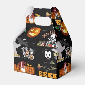 Caja Para Regalos Fiesta de Halloween