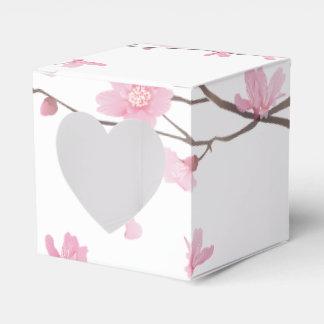 Caja Para Regalos Flor de cerezo - fondo transparente