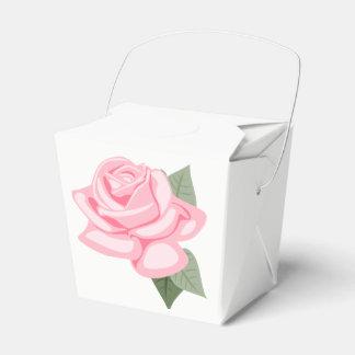 Caja Para Regalos Flores color de rosa rosadas florales - boda,