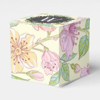 Caja Para Regalos Flores coloreadas suavidad dulce de la primavera