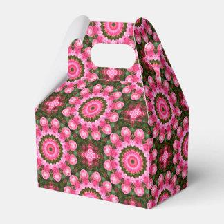 Caja Para Regalos Flores rosados, mandala-estilo floral