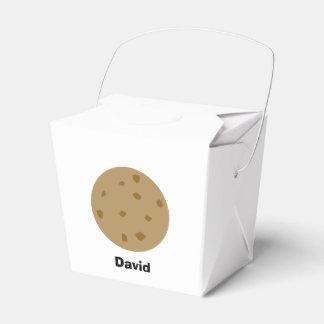 Caja Para Regalos Galleta de microprocesador de chocolate