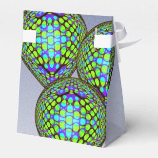 Caja Para Regalos Globos azules