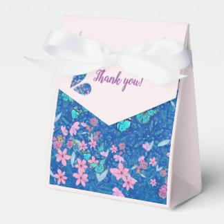 Caja Para Regalos Gracias las mariposas y las flores bonitas
