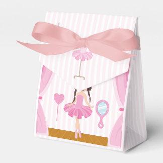 Caja Para Regalos Gracias rosadas de la huésped de la fiesta de