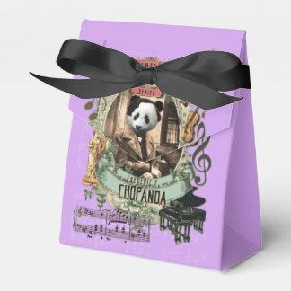 Caja Para Regalos Gran panda animal de Chopin del compositor de