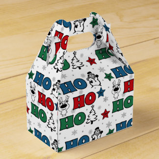 Caja Para Regalos Ho-Ho-Ho diseño del navidad