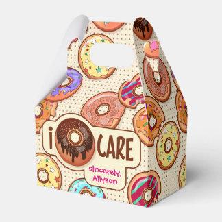 Caja Para Regalos I el dulce divertido lindo del buñuelo del cuidado