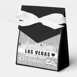 Caja Para Regalos Ideas del regalo de boda de Vegas - madera negra