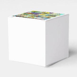 Caja Para Regalos Judaica 12 tribus de impresión del arte de Israel