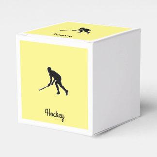 Caja Para Regalos Jugador de hockey de la hierba