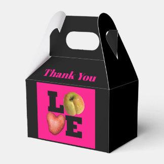 Caja Para Regalos La patata del corazón de Apple de AMOR le agradece