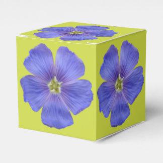 Caja Para Regalos Lino azul #1