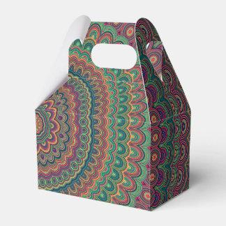 Caja Para Regalos Mandala de la flor