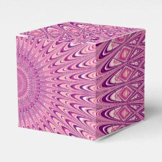 Caja Para Regalos Mandala rosada de la estrella