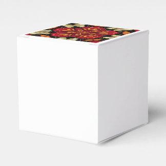 Caja Para Regalos Mandala tropical de las flores y de las mariposas