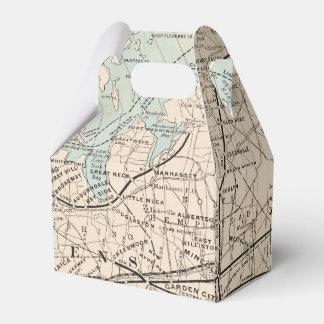 Caja Para Regalos Mapa de los reyes, Queens, Long Island
